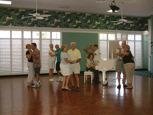 Dancing, celebrating, having fun at Pinelake Village!